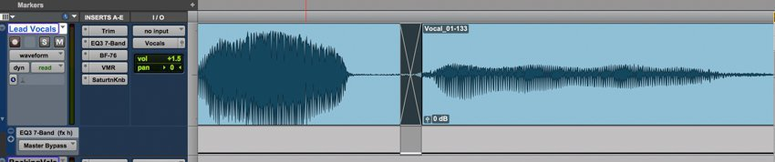 vocal crossfade