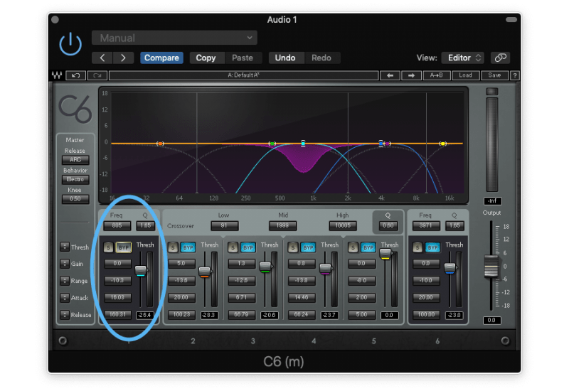 using eq to find problem frequencies