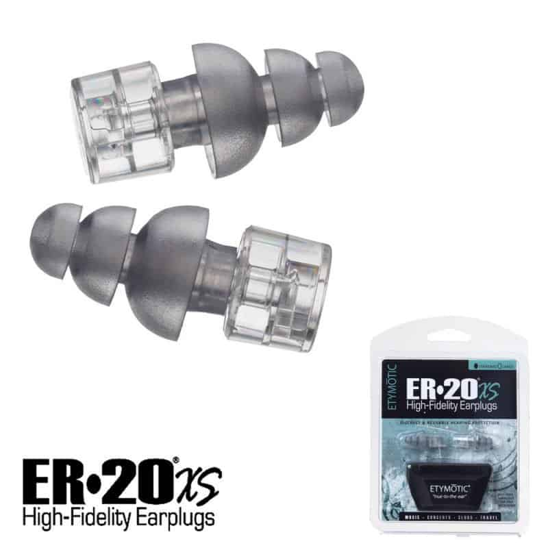 40e2d134e0a Etymotic is a renowned audio company known for making high quality earplugs.  The ER20xs's are no exception.
