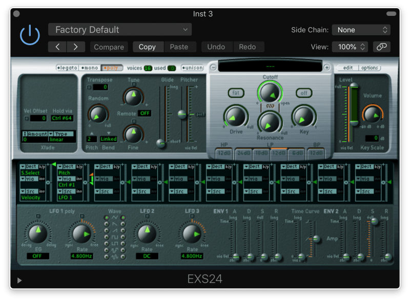 exs24 software instrument