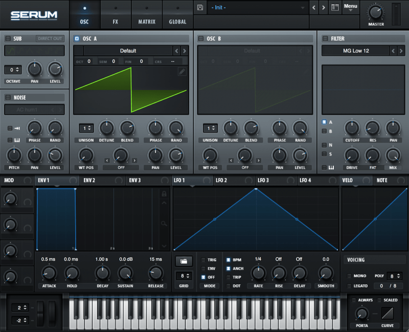 serum wavetable synthesizer