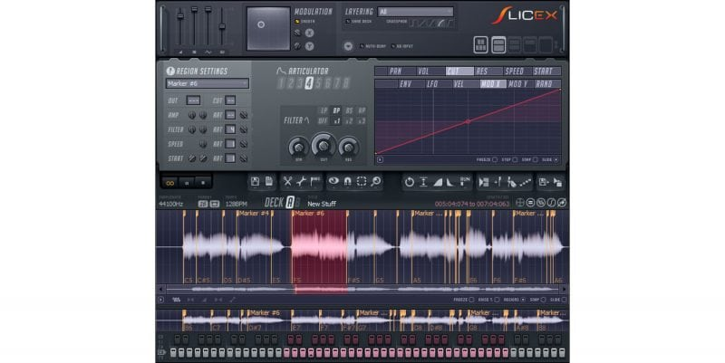 Slicex in FL Studio
