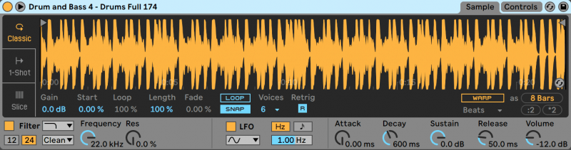 Simpler in Ableton