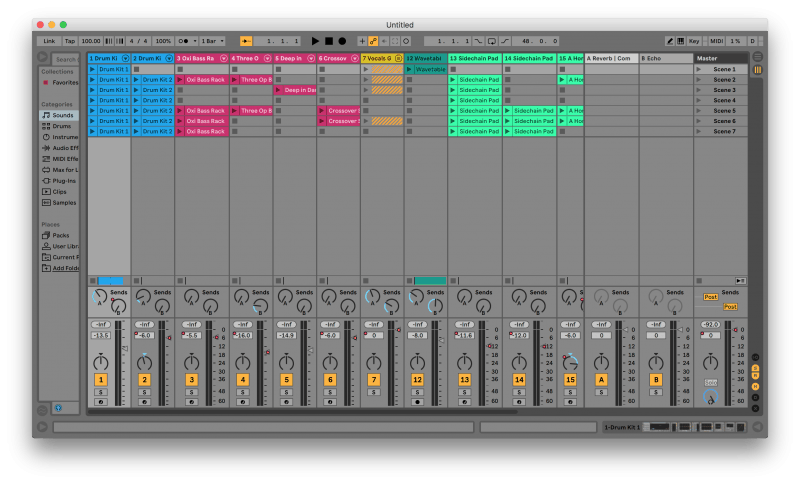 Ableton's Session View