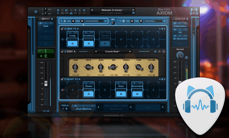 Blue Cat Guitar Effects Plugin